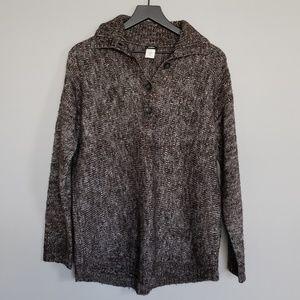 J Crew Brown Wool Sweater